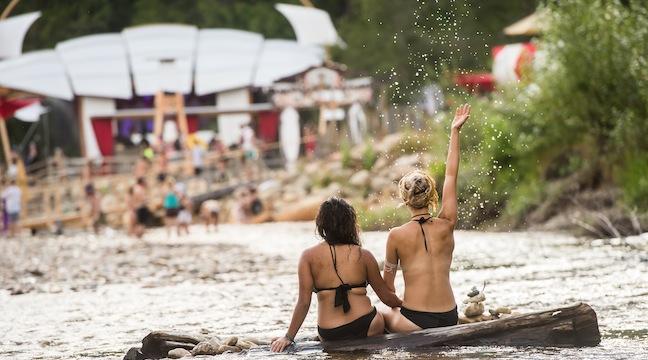 beach-frolicking