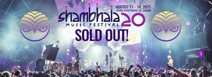 ... Music Festival 2017 •• Sold Out! - Shambhala Music Festival